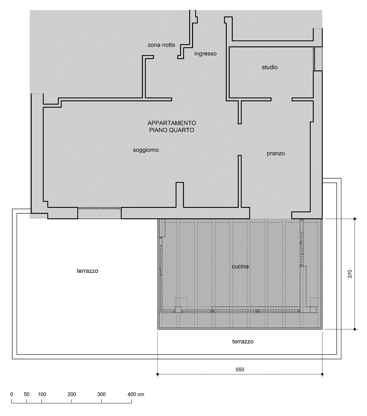 ... Immobiliare: Spostare la cucina sul terrazzo sfruttando il Piano casa