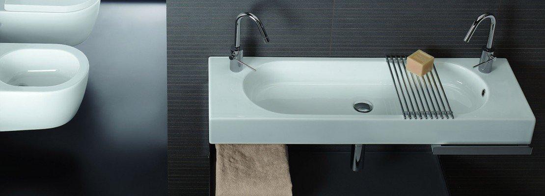 Lavabi salvaspazio poco profondi cose di casa - Mobili poco profondi ...