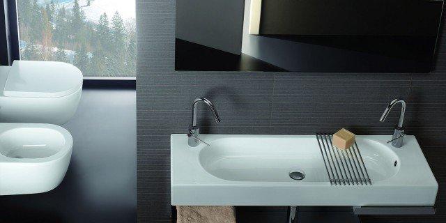 Lavabi salvaspazio poco profondi cose di casa - Mobili bagno poco profondi ...