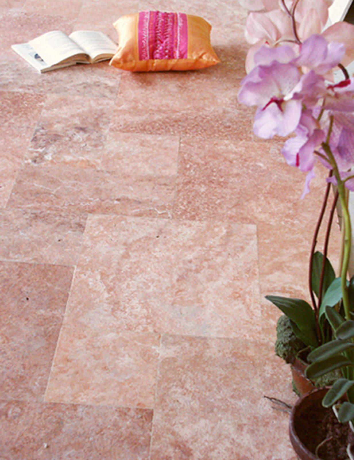 Pavimenti in marmo travertino alla veneziana all - Piastrelle in marmo ...
