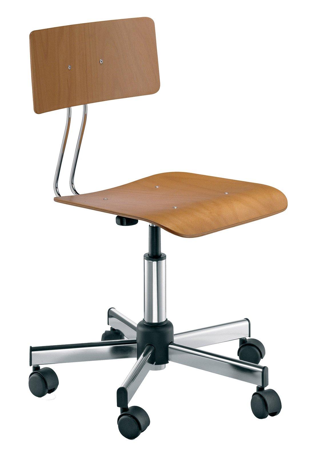 Sedie con le ruote per la scrivania - Cose di Casa