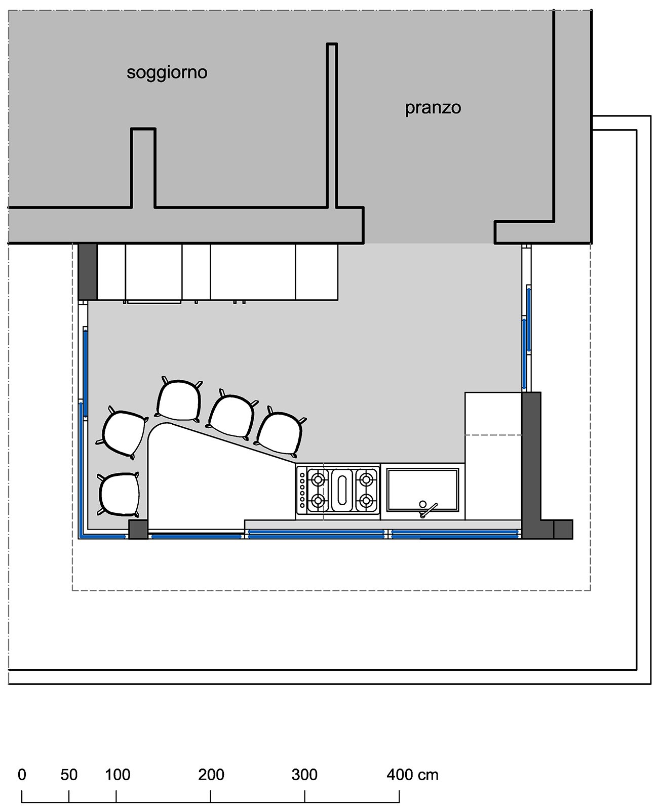 Spostare La Cucina Sul Balcone spostare la cucina sul terrazzo sfruttando il piano casa