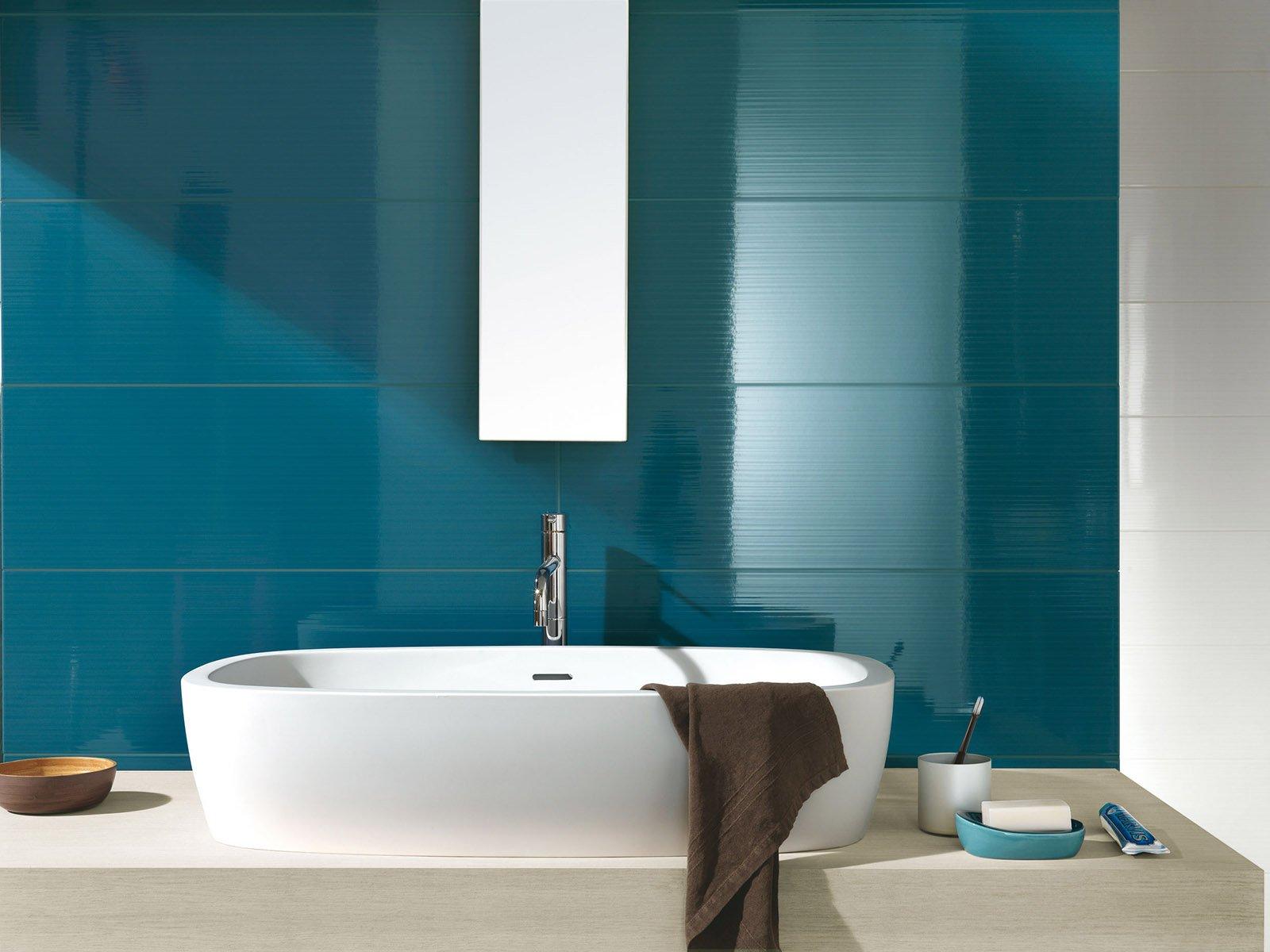Bagno Materiali Superfici Linee Che Rendono Pi Facile Tenere Pulito Cose Di Casa
