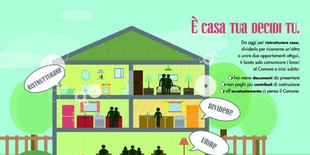 Ristrutturare dividendo o unendo appartamenti: in meno tempo e risparmiando