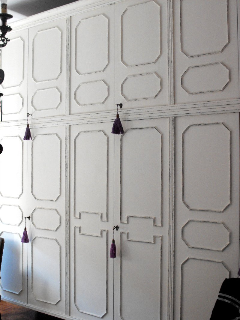 Decorare Armadio A Muro.Restyling Trasformare Un Vecchio Armadio In Un Arredo Shabby Chic