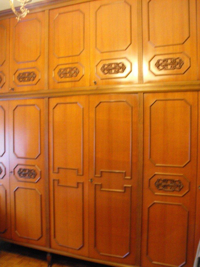 Restyling trasformare un vecchio armadio in un arredo - Trasformare mobili vecchi ...