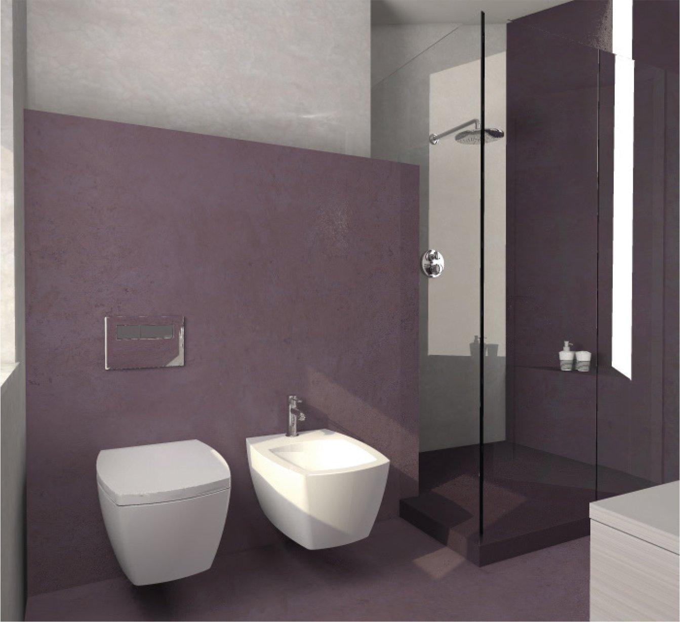 Una mansarda con dislivello progetto in 3d e foto della - Mobili bagno semeraro ...