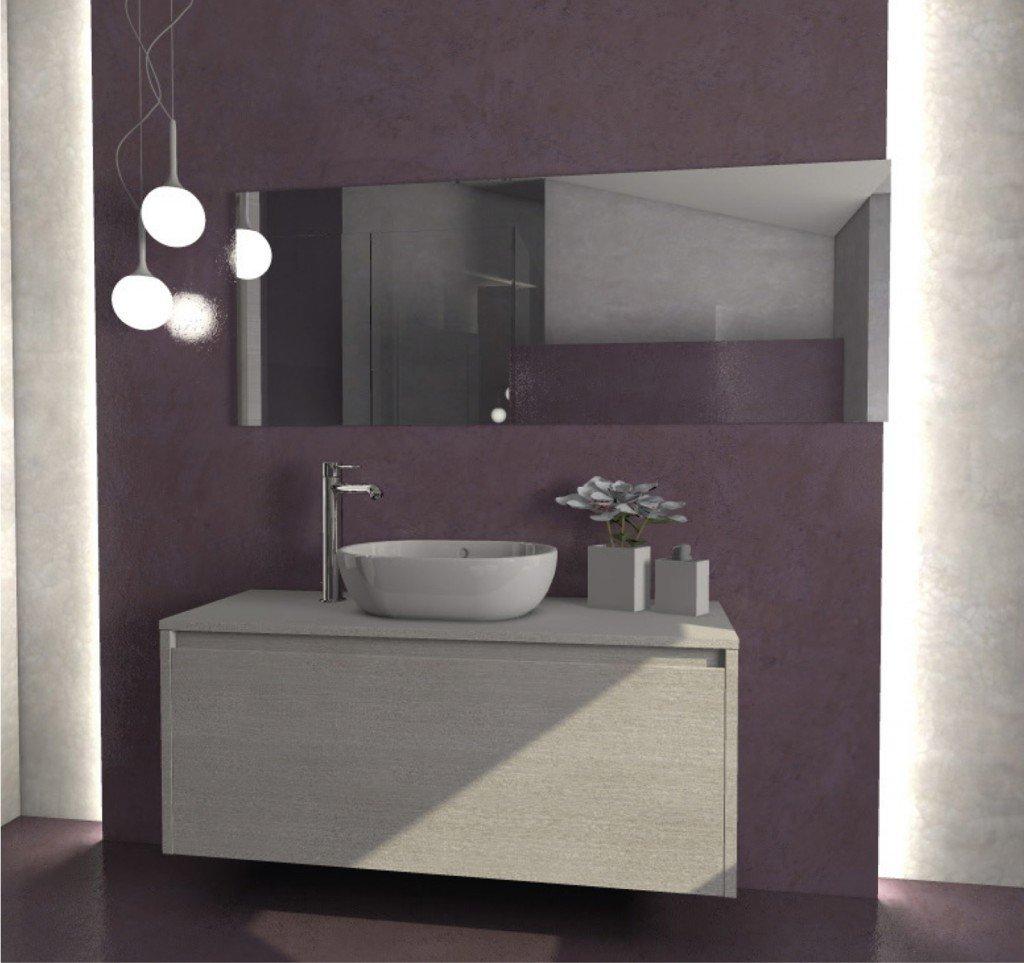 Una mansarda con dislivello progetto in 3d e foto della for Arredo bagno mondo convenienza