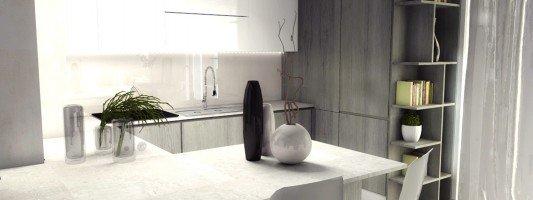 Arredamento casa da 50 a 100 mq idee e progetto for Progetti appartamenti moderni