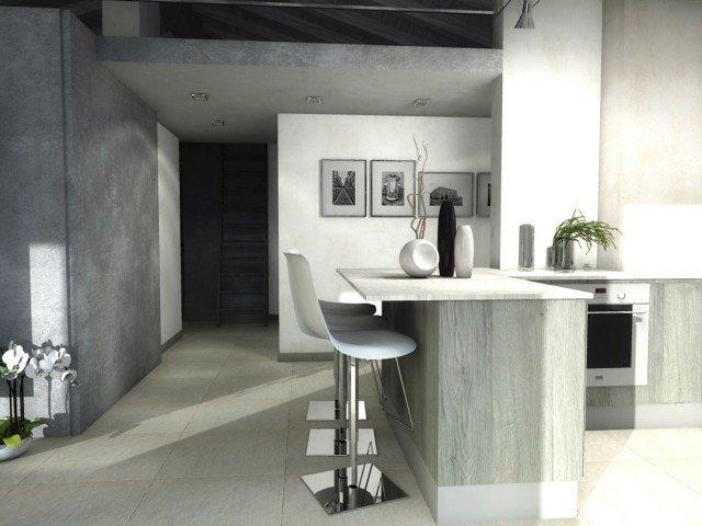 casa-mansarda-cucina-bancone