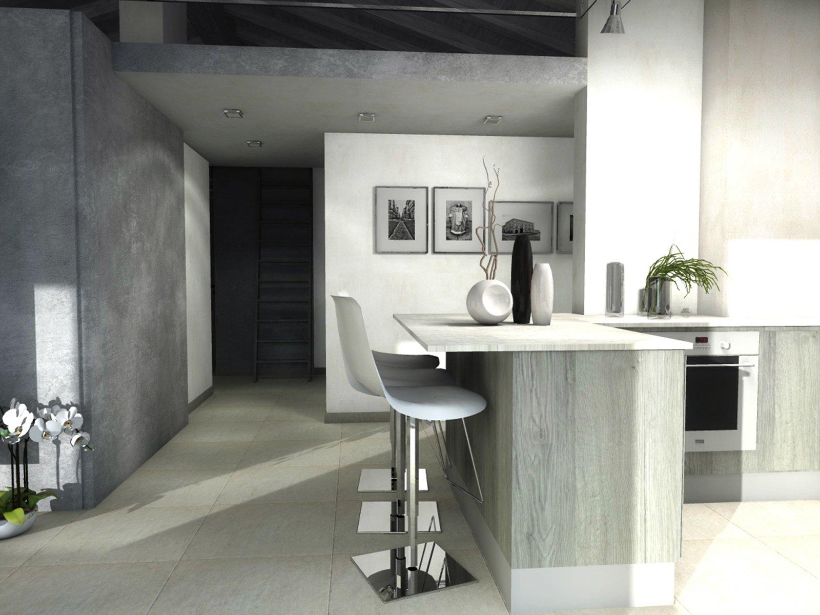 Casa Mansarda Cucina Bancone Cose Di Casa #707457 1600 1200 Foto Di Cucine In Finta Muratura