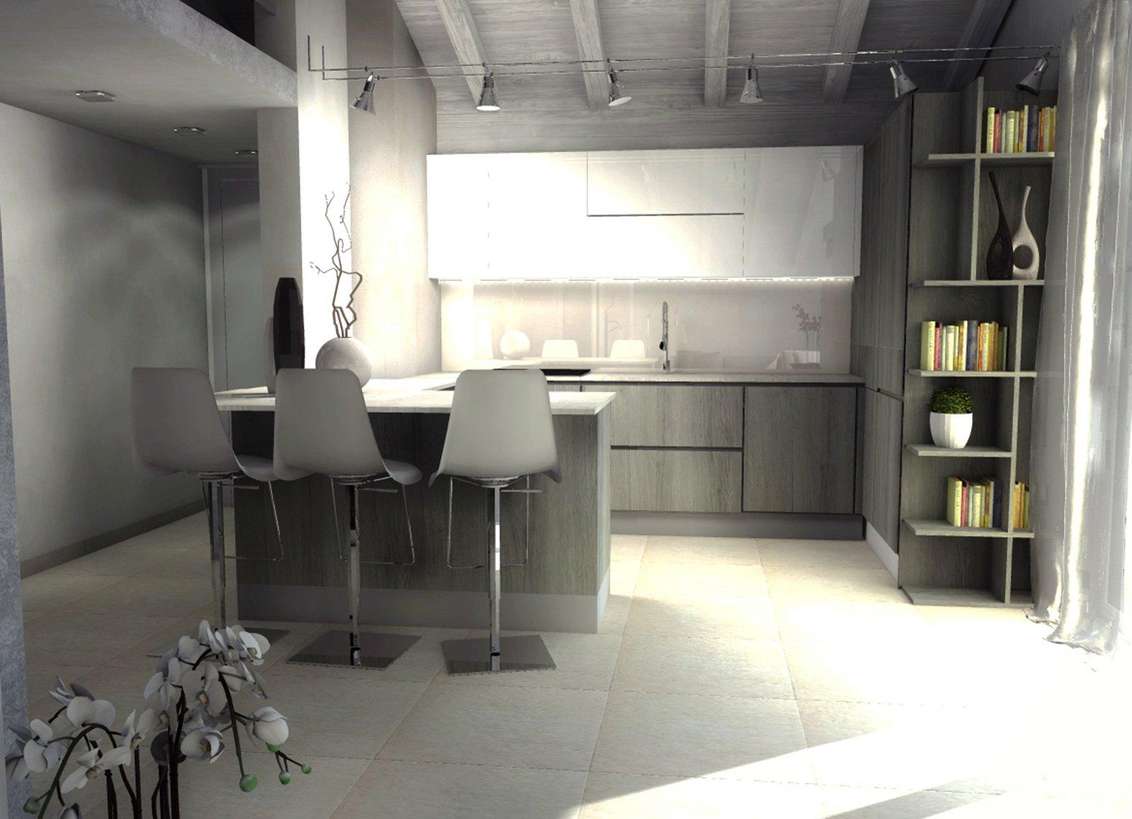 Interesting cucine per mansarde fabulous pauline la desiderava una cucina with cucine per mansarde - Cucine per mansarde basse ...