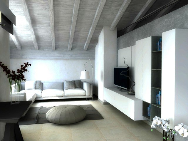 casa-mansarda-soggiorno