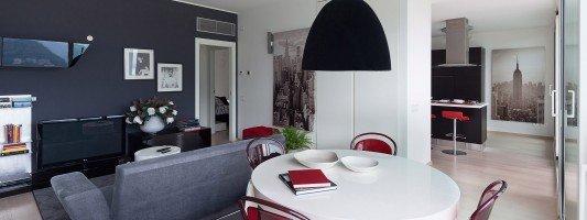 Arredamento casa da 50 a 100 mq idee e progetto for Casa moderna 60 mq