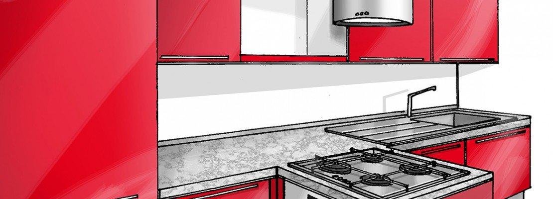 Cucina concentrata in 3 metri - Cose di Casa