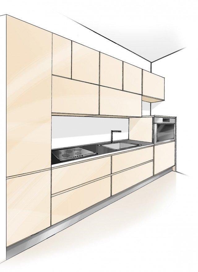 cucina-lineare-progettoB