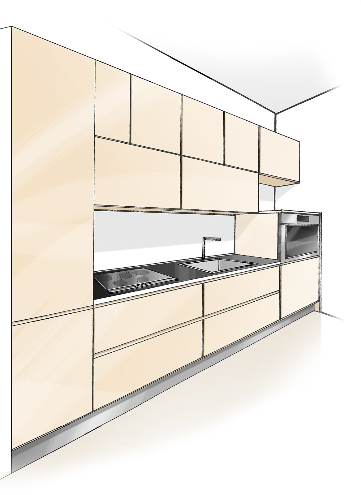 Focus: Vani Ad Ante O Cestoni E Chiusure Push Pull #956C36 1167 1600 Pensili Cucina IKEA