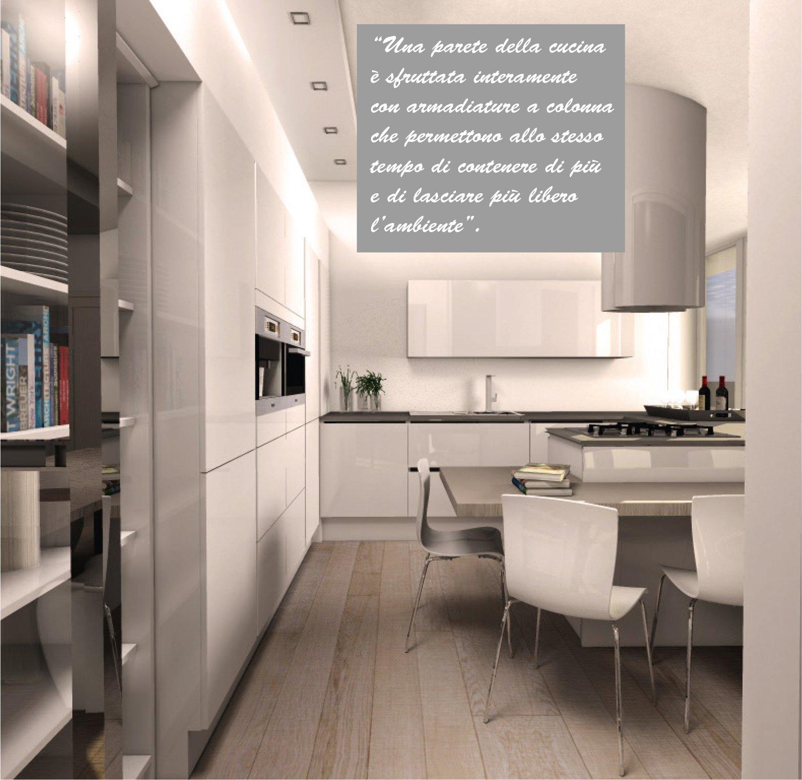 Cucine mansarda trendy attico mansardato piani di lavoro for Piani di casa cabina di tronchi con foto
