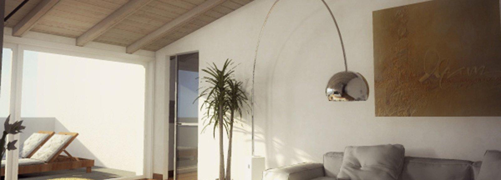 Idee Bagno Nel Sottotetto : Mansarda: una casa sottotetto luminosa e ...