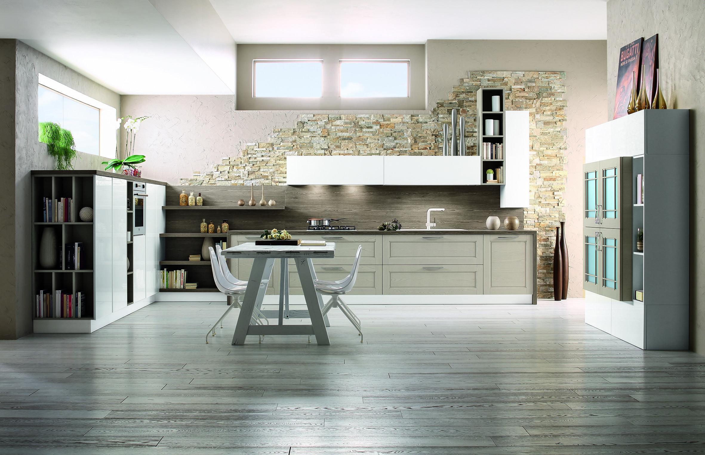 Cucine arrex prezzi idee per il design della casa for Divano incassato