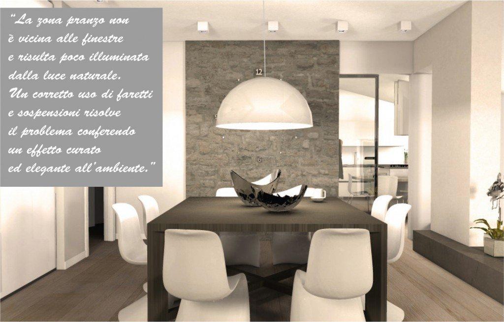 Una mansarda con dislivello. progetto in 3d e foto della casa ...