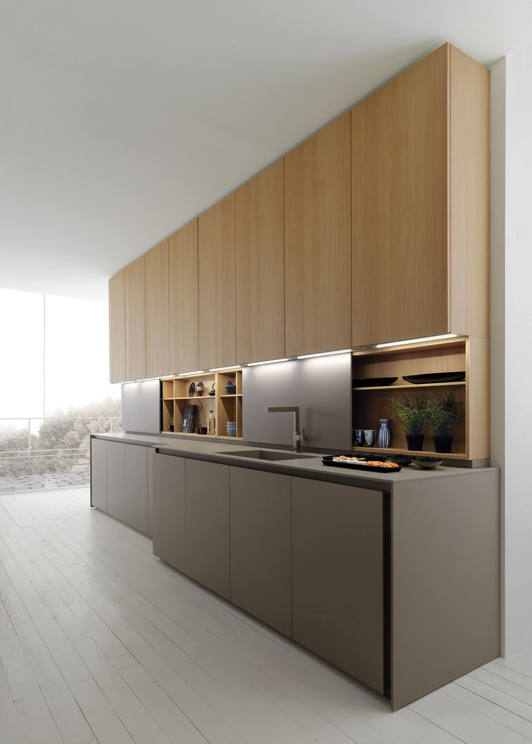 cucina contenere di pi con tanti pensili o pensili grandi cose di