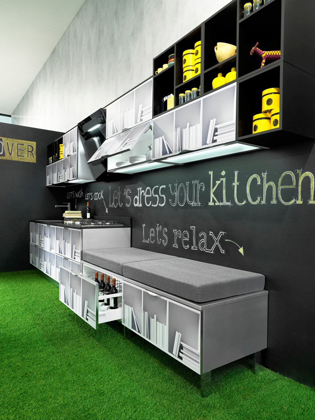 Pensile A Giorno Cucina Ikea : Pensile cucina arte povera. Pensile ...