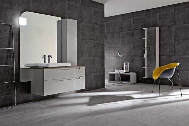 Mobili bagno con cassetti tutto in ordine sotto il lavabo - Mobile bagno asimmetrico ...
