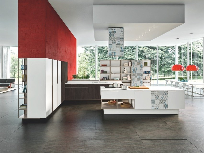 In cucina materiali protagonisti cose di casa for Materiali di rivestimenti casa