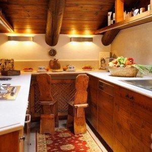 Mansarda tutta legno: nuova vita per la casa di montagna - Cose di Casa