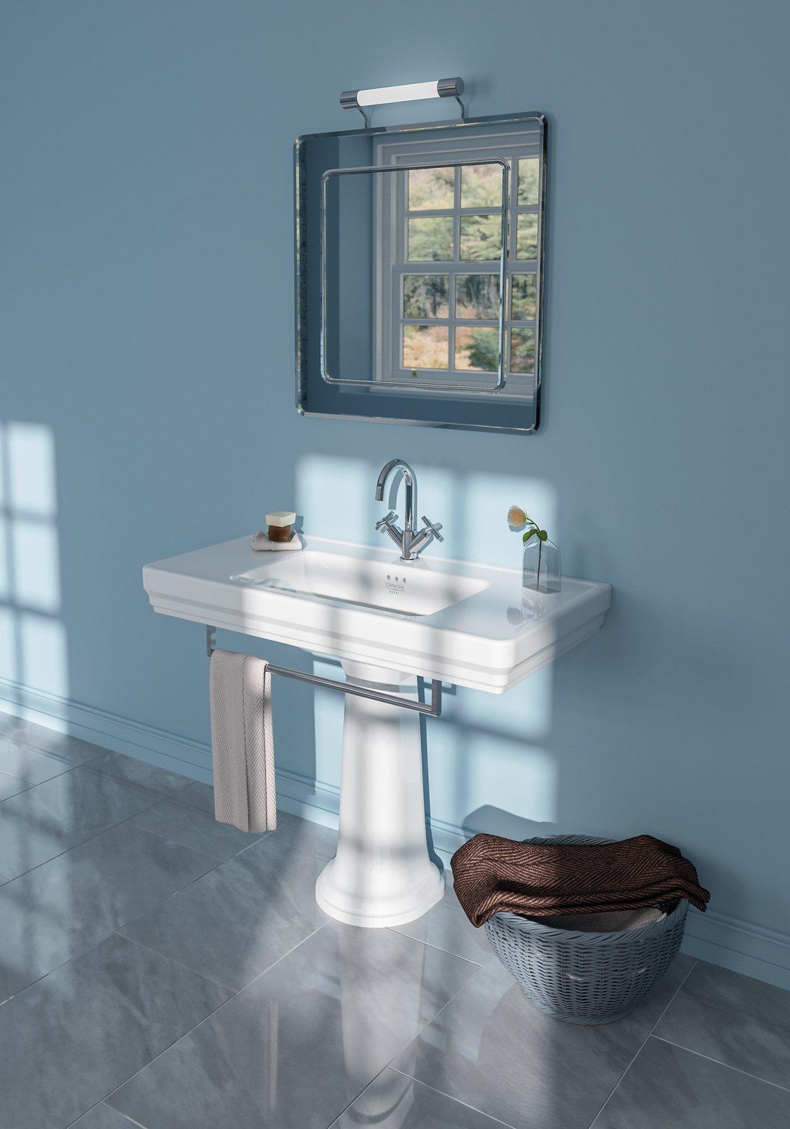 Lavabi classici lo stile anche in bagno cose di casa - Consolle bagno classico ...