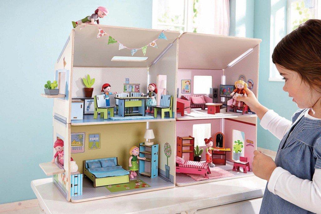 Giocattoli che arredano la cameretta cose di casa - Casa delle bambole in legno ikea ...