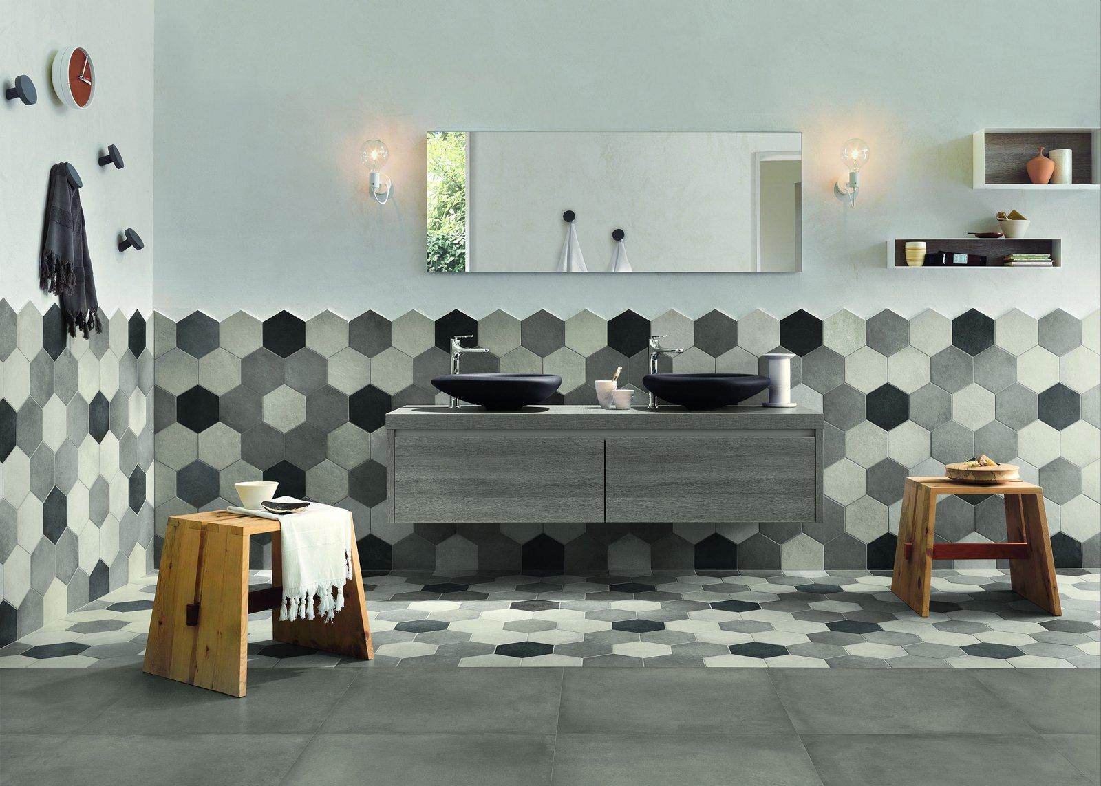 piastrelle esagonali ritorno alla tradizione cose di casa. Black Bedroom Furniture Sets. Home Design Ideas