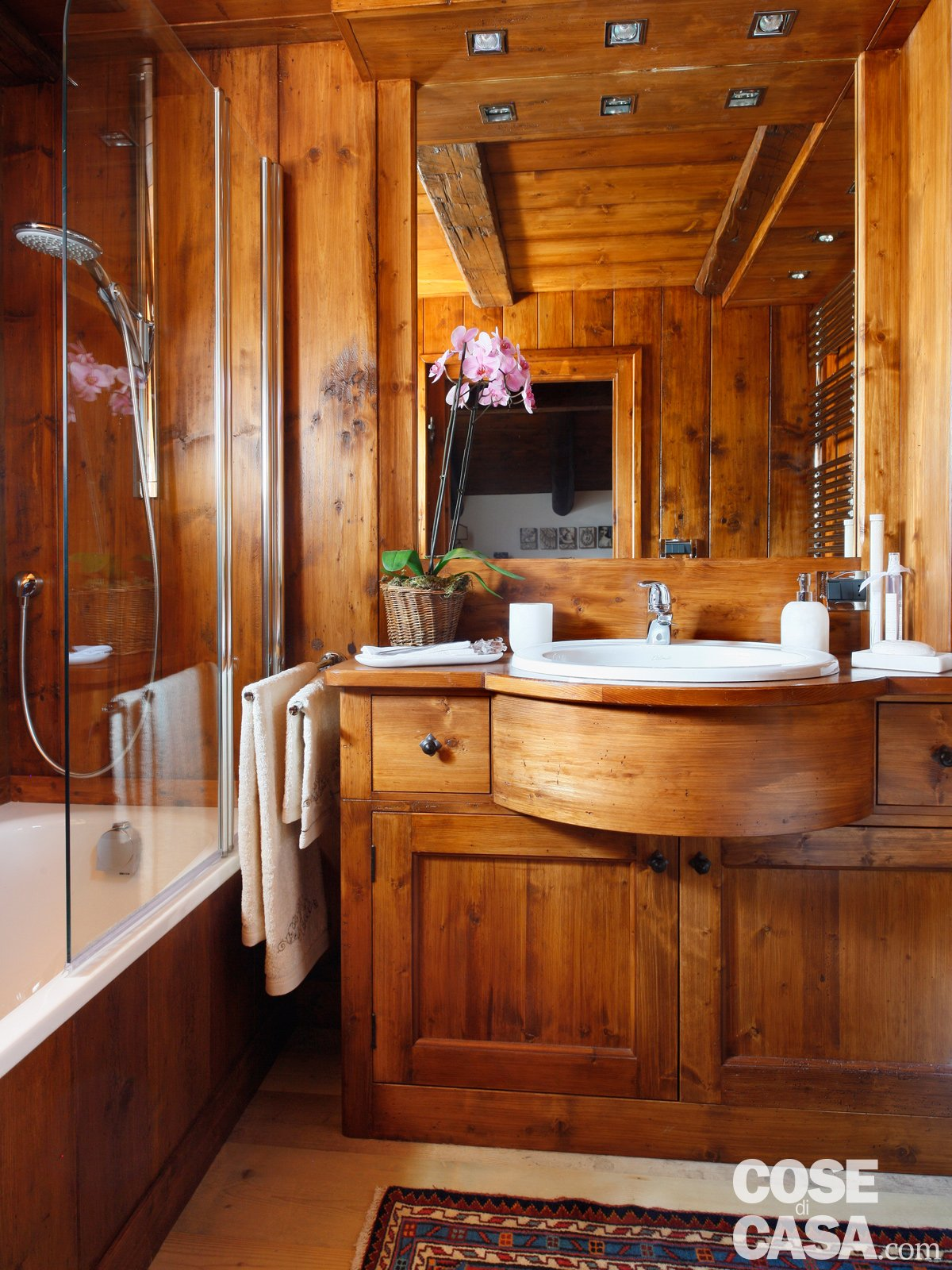 Mansarda tutta legno nuova vita per la casa di montagna - Cose per la casa ...