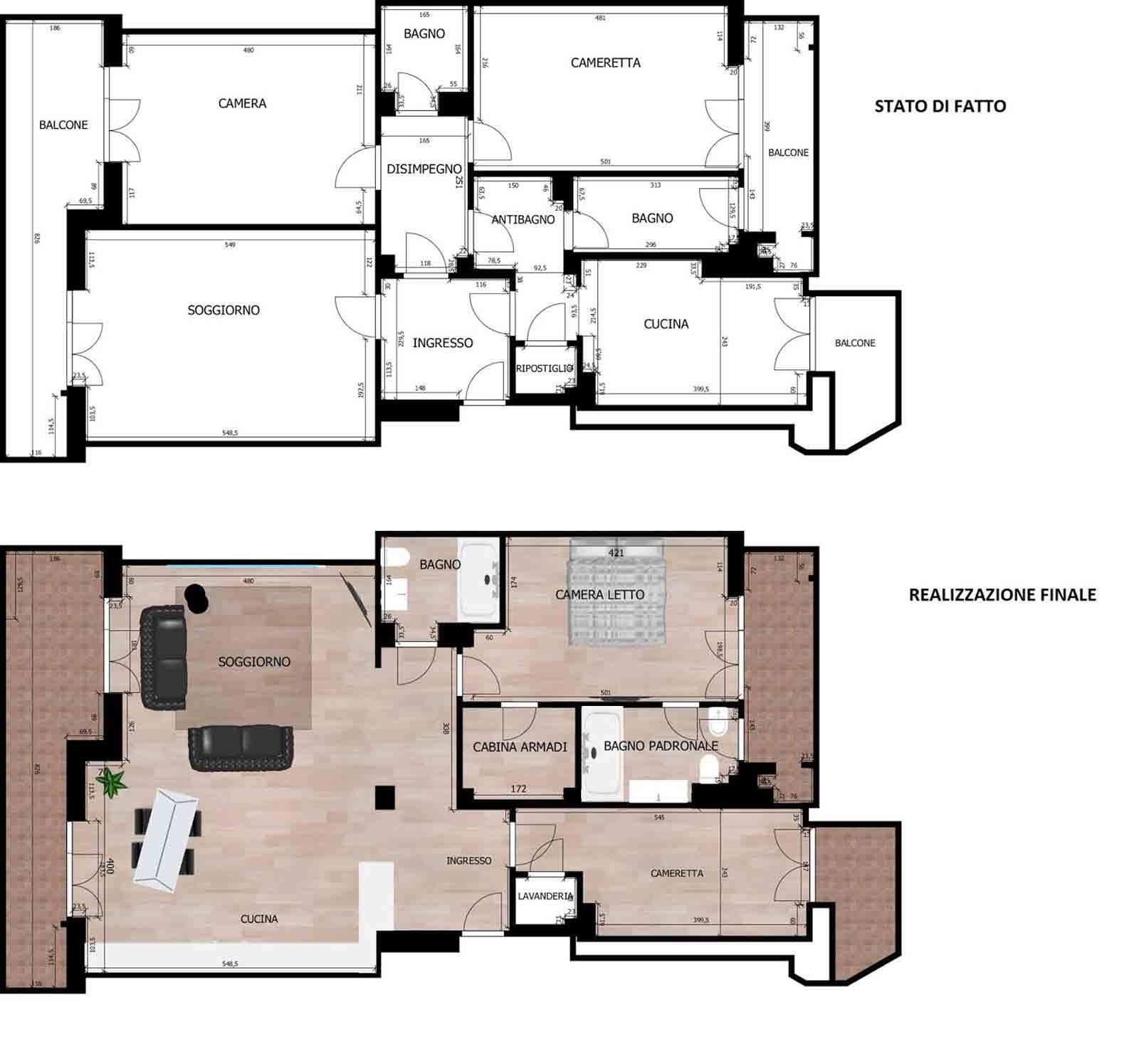9 planimetrie cose di casa - Planimetria casa 60 mq ...