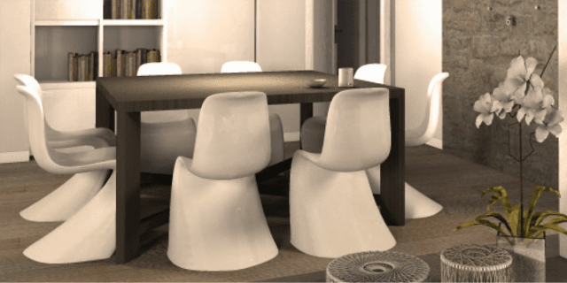 Una mansarda con dislivello. Progetto in 3D e foto della casa