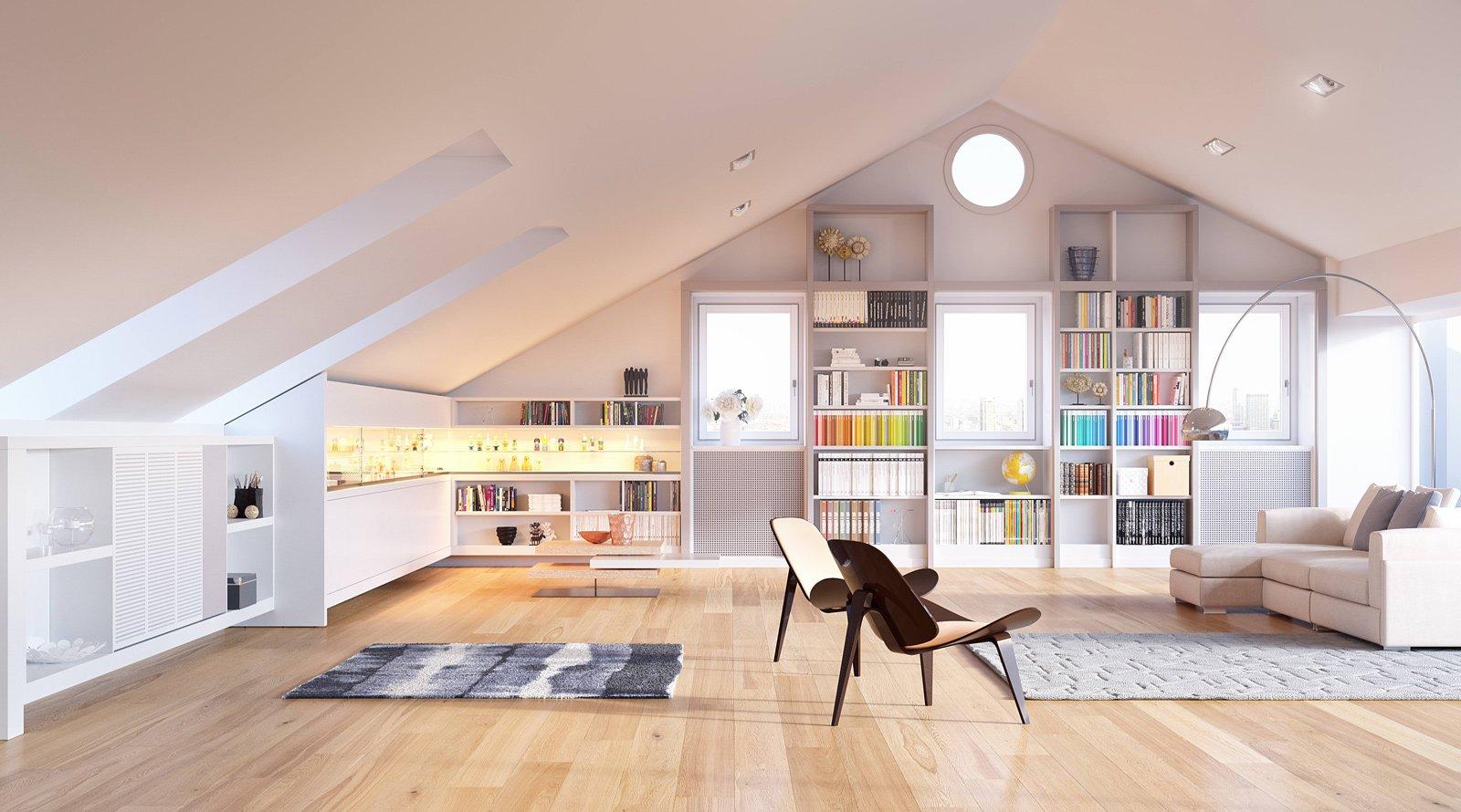 Sottotetto dopo la ristrutturazione l 39 arredo giusto cose di casa for Immagini arredamento
