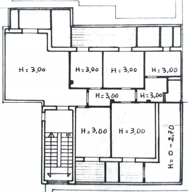 120 mq una casa riportata a nuova vita cose di casa - Planimetria casa 120 mq ...
