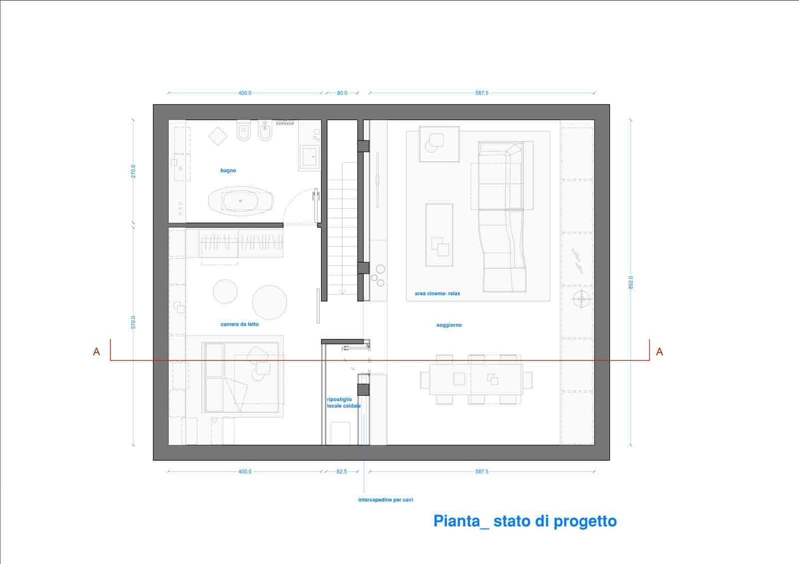 Progetto for Lavatrici poco profonde