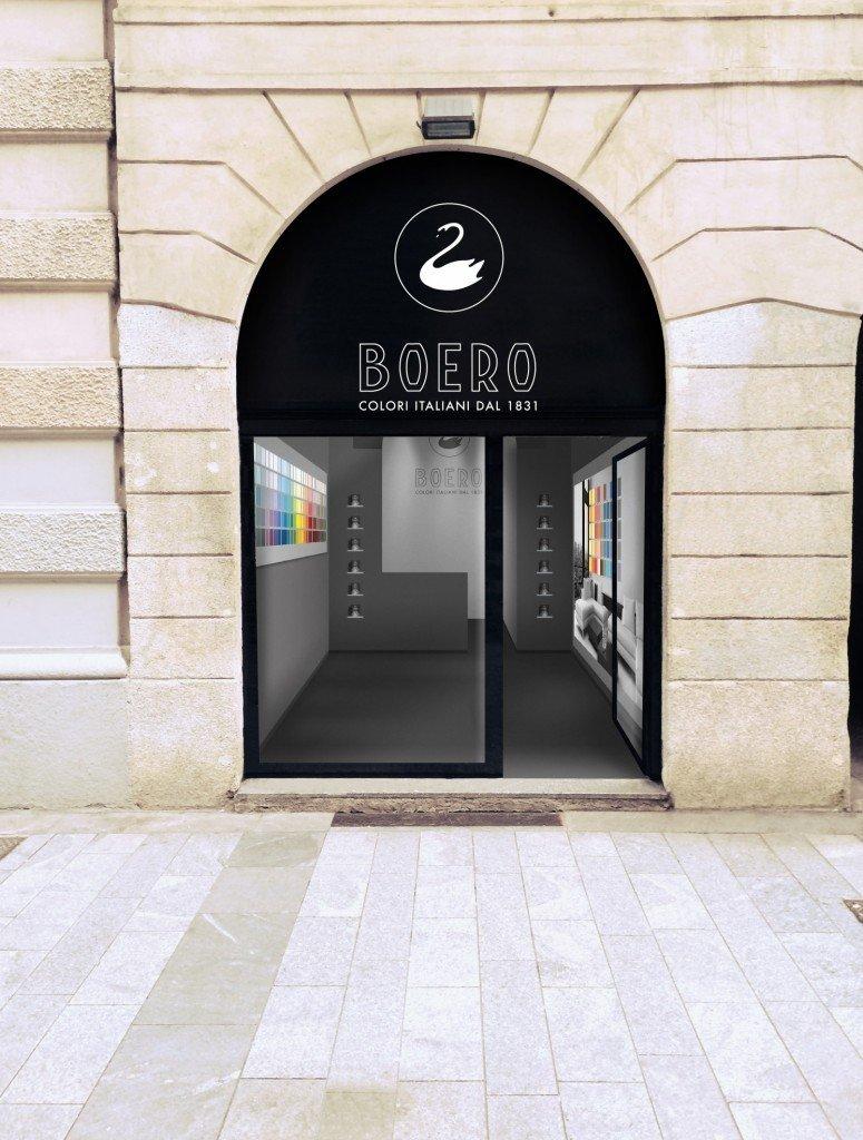 Boero apre un temporary store nel centro di milano cose for Boero colori