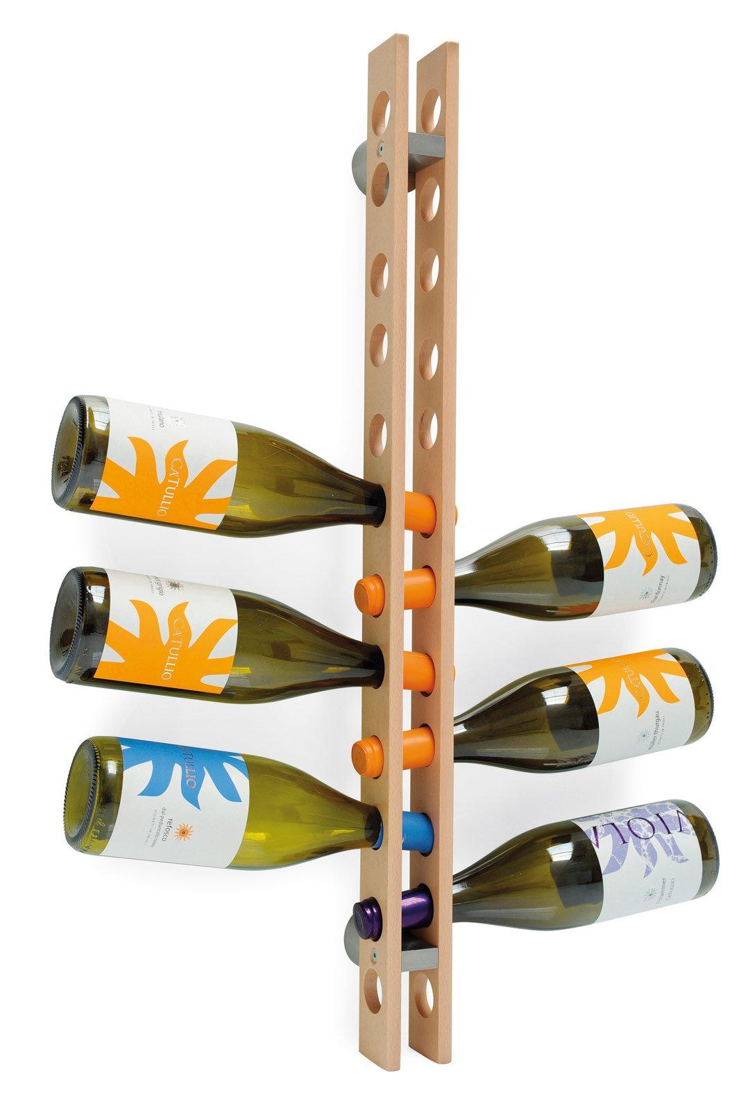 Portabottiglie belli da lasciare a vista cose di casa - Porta bottiglie ikea ...