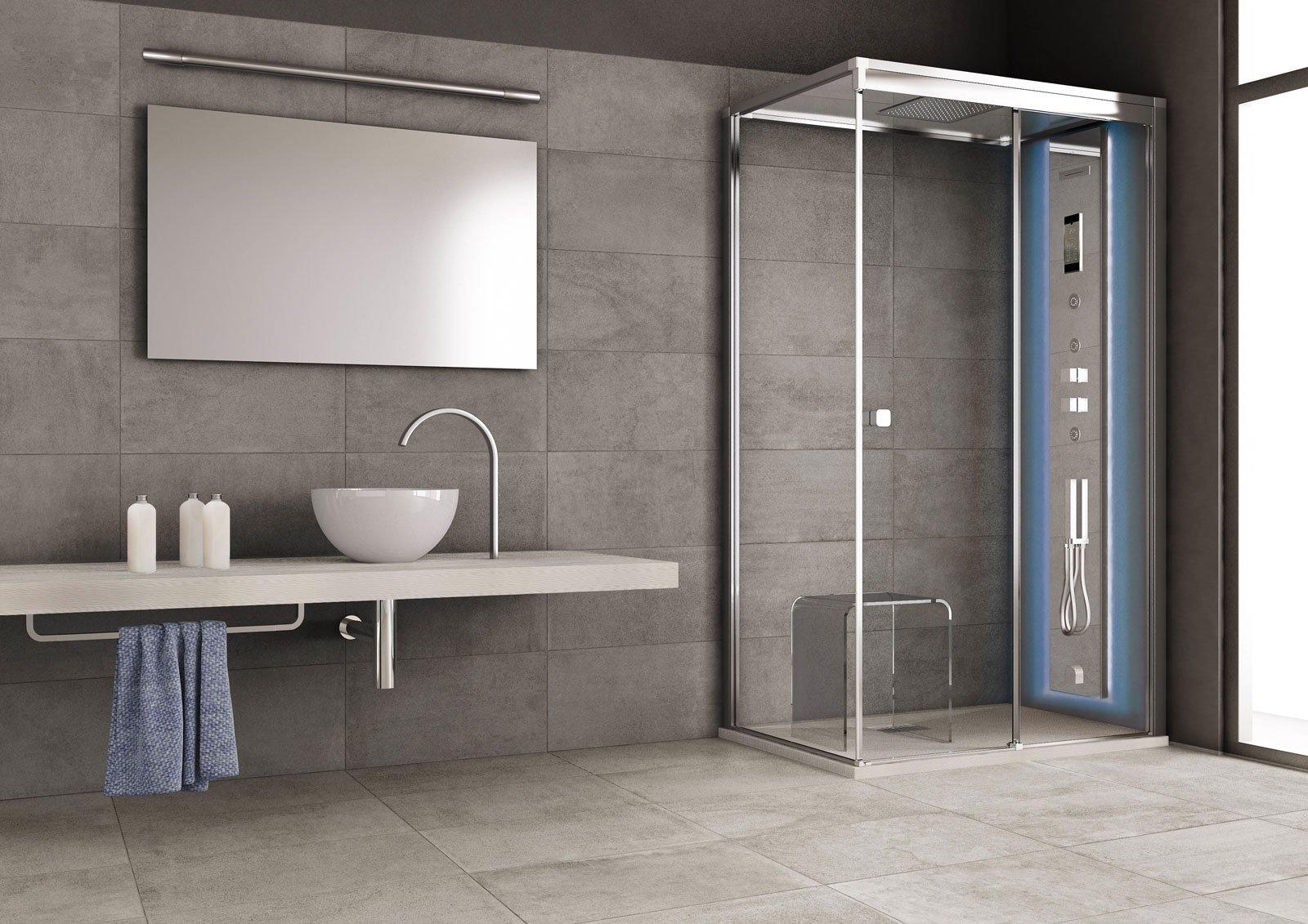Grandform la doccia si trasforma in una spa cose di casa - Pannelli per rivestimento interno doccia ...