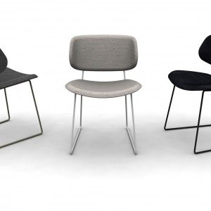 A iSaloni 2015, due tendenze per le sedie: riccamente imbottite o ...