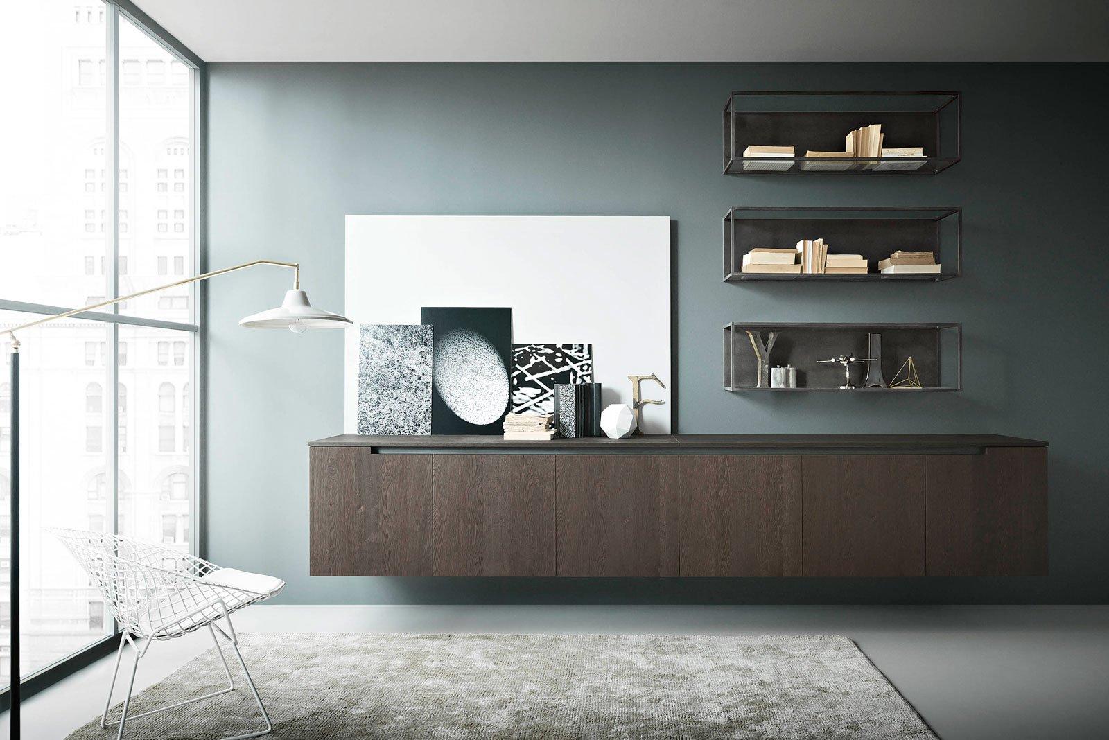 Mobile Soggiorno Nero: Pareti attrezzate soggiorno (foto) design mag ...