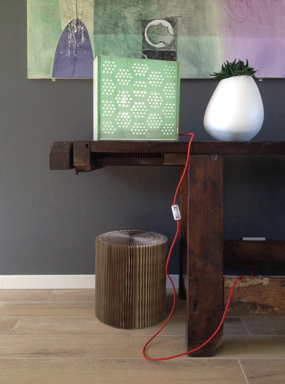 Recupero creativo  la lampada traforata   Cose di Casa -> Lampadario Fai Da Te Con Grucce