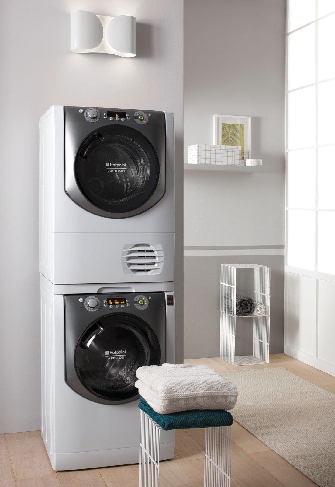 Colonna Per Lavatrice E Asciugatrice asciugatrici efficienti. per chi non ha spazio per stendere
