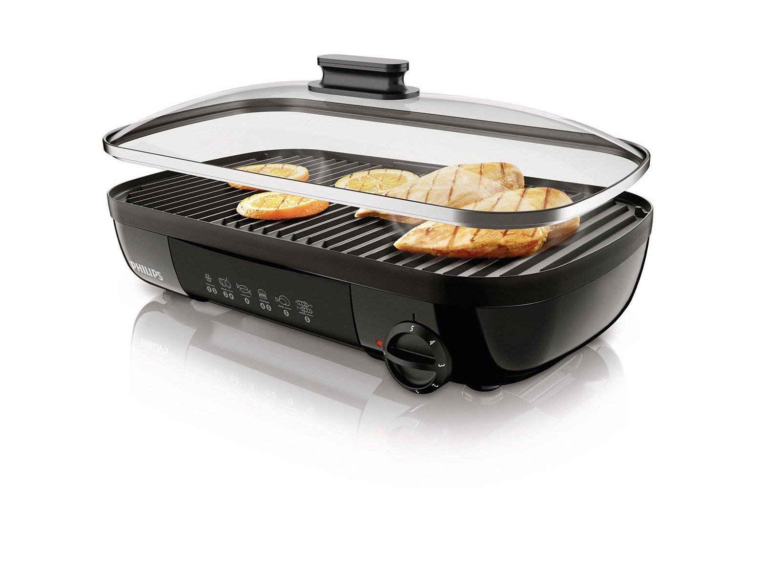 Bistecchiere elettriche tempo di barbecue anche in casa - Piastra per cucinare ...