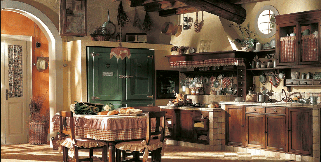 Cucine con cappa grande moderne e classiche cose di casa - Cappe da cucina classiche ...