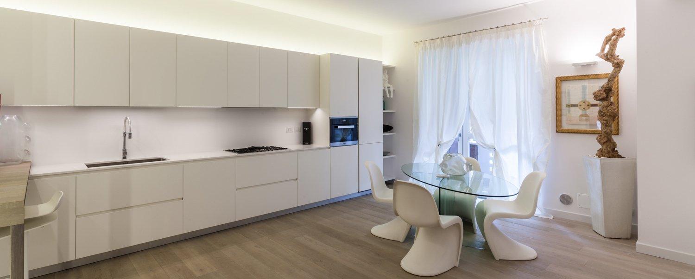 95 mq una casa con pi spazio e pi luce grazie alla demolizione del corridoio cose di casa - Cucina aperta sul soggiorno ...