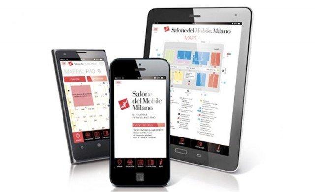 La app MySalone, scaricabile gratuitamente su smartphone e tablet, consente di seguire in tempo reale tutti gli eventi in programma e trovare agevolmente ciò che si cerca in Fiera. www.salonemilano.it
